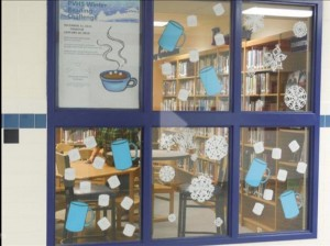 Visit the PVHS Library for details about the Winter Reading Challenge!